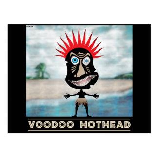 VooDoo Red Head Postcard