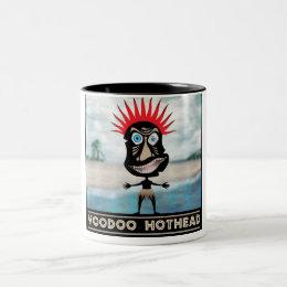 VooDoo Red Head Two-Tone Coffee Mug