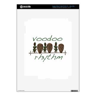 Voodoo Rhythm iPad 3 Decal