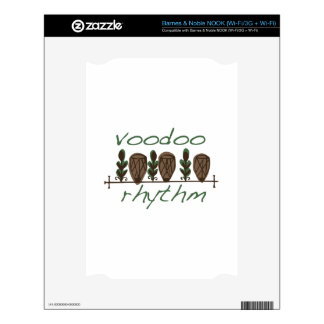 Voodoo Rhythm Decals For The NOOK