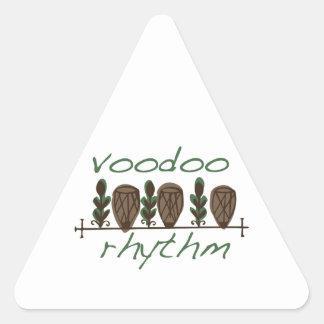Voodoo Rhythm Triangle Sticker