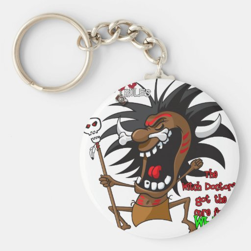Voodoo RULES with Tagline Key Chains