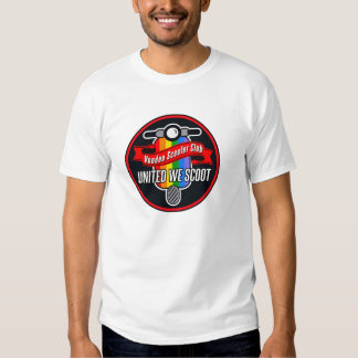 VOODOO SCOOTER CLUB UNITED WE SCOOT T-Shirt