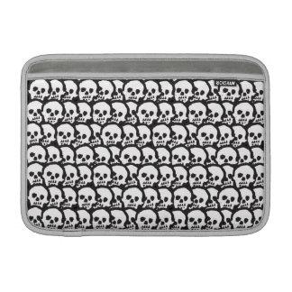 """Voodoo Skulls 11"""" Horizontal MacBook Air Sleeve"""