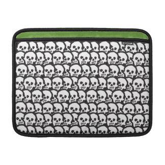 """Voodoo Skulls 13"""" Horizontal MacBook Air Sleeve"""