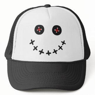 Voodoo Smiley Face Trucker Cap