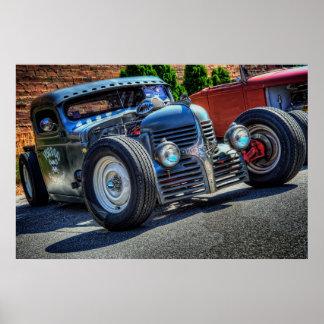 Voodoo Speed & Kustoms Dodge Print