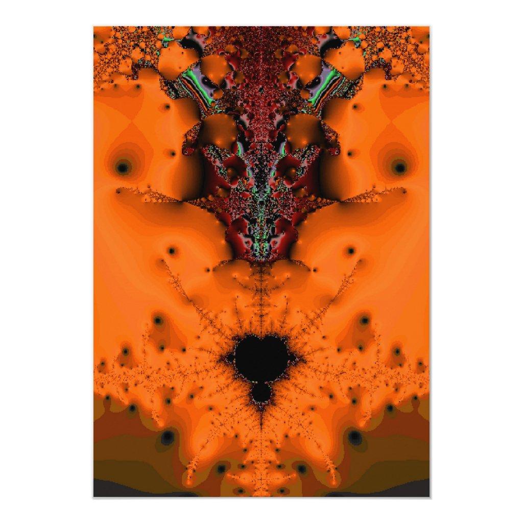 Voodoo Spirit Halloween Invitation
