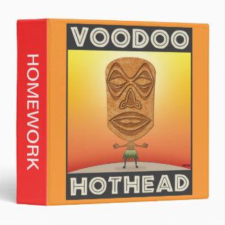 VooDoo Tiki Head Binder