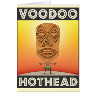 VooDoo Tiki Head Card