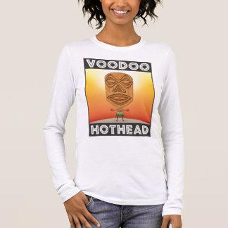 VooDoo Tiki Head Long Sleeve T-Shirt