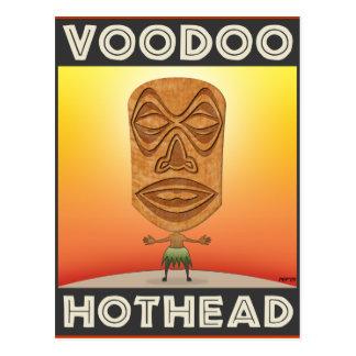 VooDoo Tiki Head Postcard