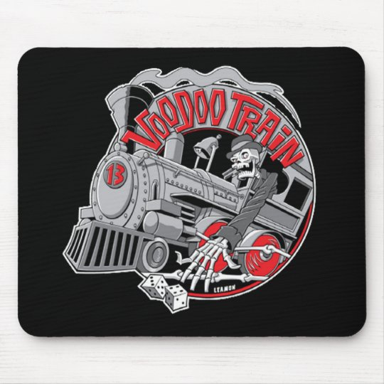 Voodoo Train Mousepad