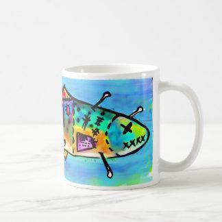 voodoo trout coffee mug
