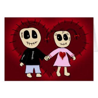 'Voodoo Valentine' Card