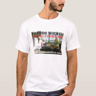 Voodoo Wicked Road Town Caribbean Market T-Shirt