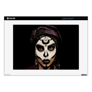 Voodoo  witch decals for laptops