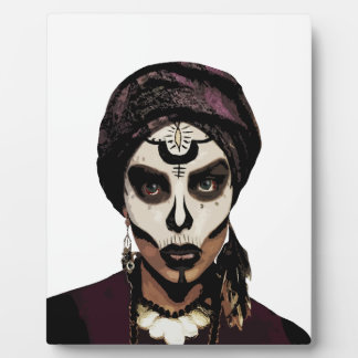 Voodoo  witch plaque