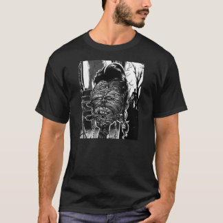 VOODOO ZOMBIE HEAD- FROM UNDEAD EVIL COMIC T-Shirt