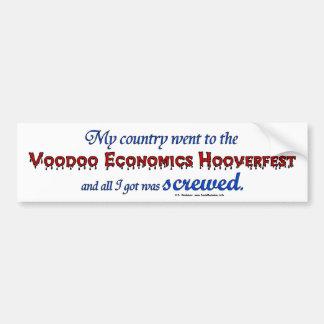 VoodooHooverfestScrewed Bumper Sticker