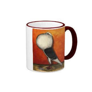 Voorburg Cropper Blue Check Coffee Mug