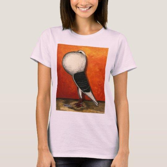 Voorburg Cropper Blue Check T-Shirt