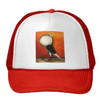 Voorburg Cropper Blue Check Trucker Hat