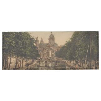 Voorburgwal & Nicolaaskerk, Amsterdam Billfold Wallet