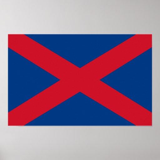 Voortrekker Flag Poster