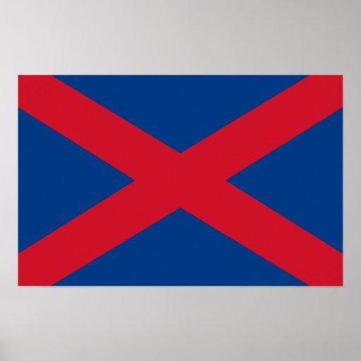 Voortrekker Flag Posters