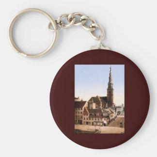 Vor Frelsers Kirke Church of Our Savior Copenhagen Keychain