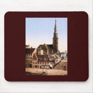 Vor Frelsers Kirke Church of Our Savior Copenhagen Mouse Pad