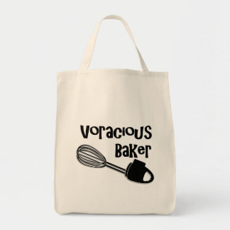 Voracious Baker - Funny Grocery Bag for Bakers
