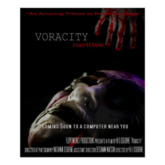 Voracity Poster