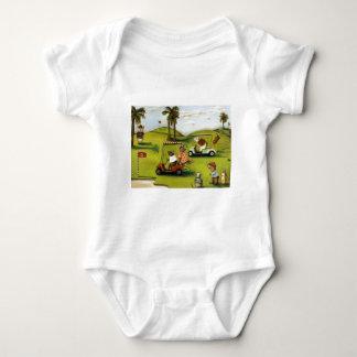 Vorágine 2 en el campo de golf body para bebé