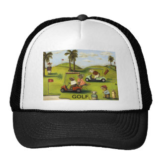Vorágine 2 en el campo de golf gorras