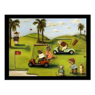Vorágine 2 en el campo de golf postales