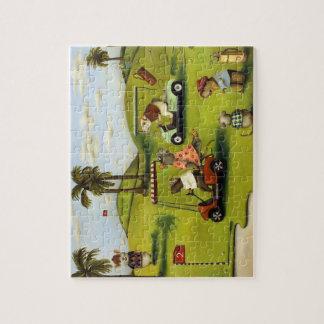 Vorágine 2 en el campo de golf puzzle