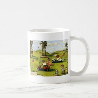 Vorágine 2 en el campo de golf taza de café