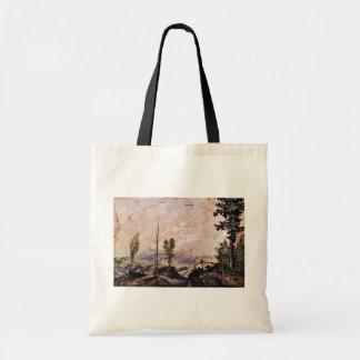 Voralpenlandschaft By Huber Wolf (Best Quality) Budget Tote Bag
