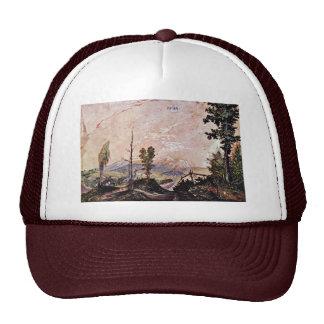 Voralpenlandschaft By Huber Wolf (Best Quality) Trucker Hat