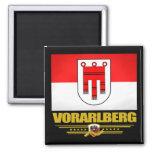 Vorarlberg 2 Inch Square Magnet