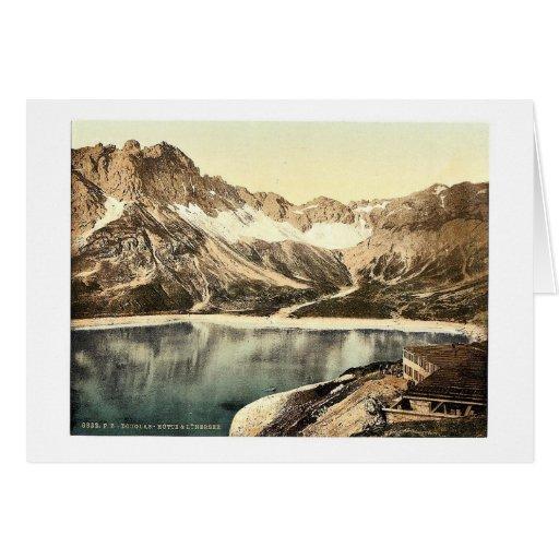 Vorarlberg Douglas Hut and Lunersee, Tyrol, Austro Card