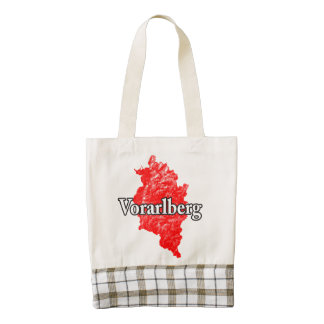 Vorarlberg Zazzle HEART Tote Bag