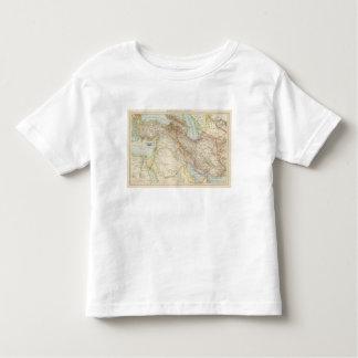 Vorderasien, Persien - Asia Menor y mapa de Persia Playera De Bebé