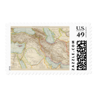 Vorderasien, Persien - Asia Minor and Persia Map Postage
