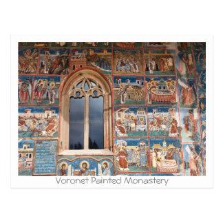 Voronet Painted Monastery Postcard