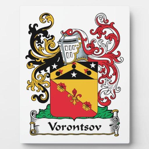 Vorontsov Family Crest Plaques
