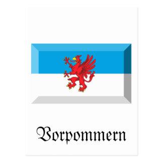 Vorpommern Flag Gem Postcard