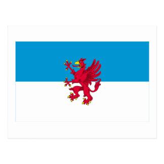 Vorpommern Flag Postcard